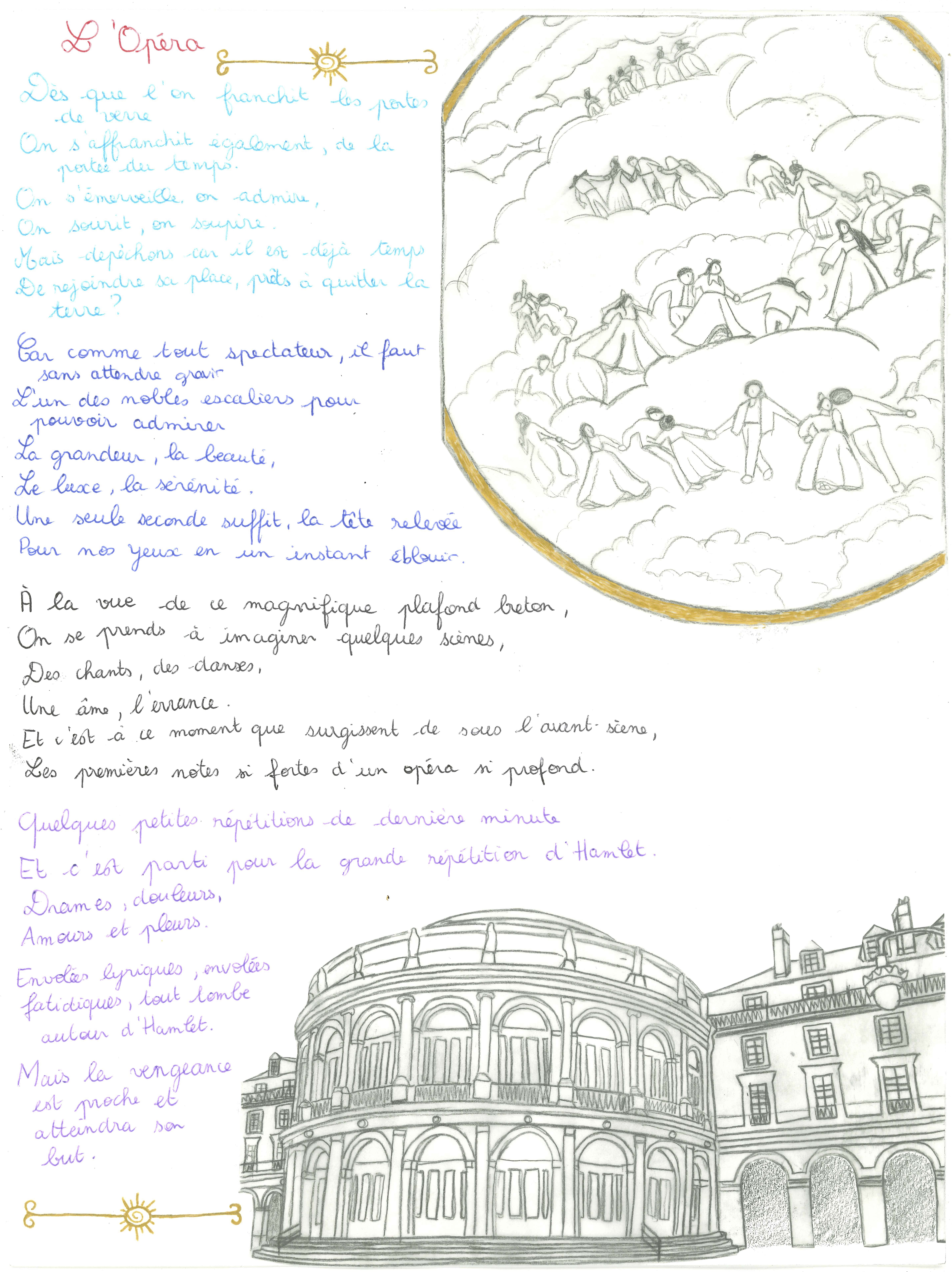 Maëlle-Dessin Poème