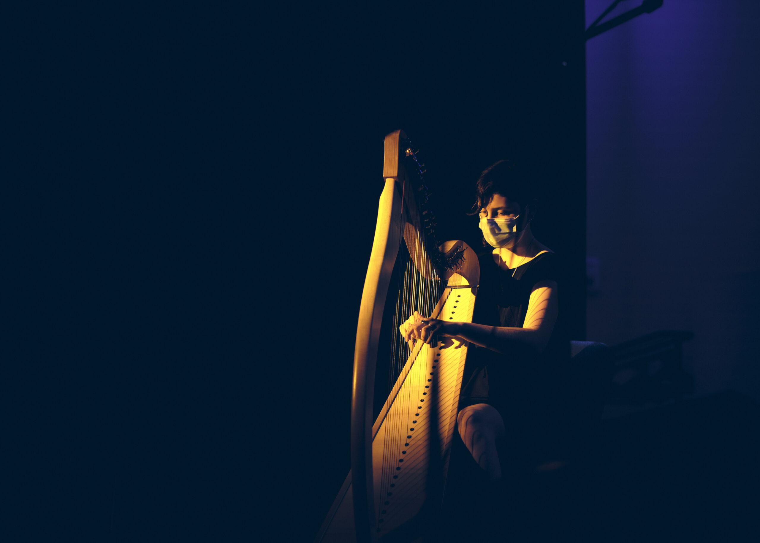 02n Leila à la harpe